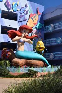 ディズニーワールドホテル敷地内