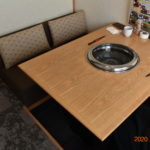 レストランだいきちテーブル